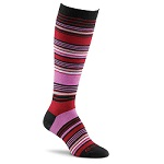 Fox River Simply Stripe Knee-High Black