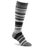 Fox River Simply Stripe Knee-High Charcoal