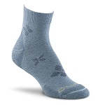 Fox River Spree Lite Quarter Crew Sock Ice Blue