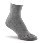 Fox River Spree Lite Quarter Crew Sock Light Grey