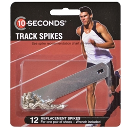 Ten Seconds Track Spikes